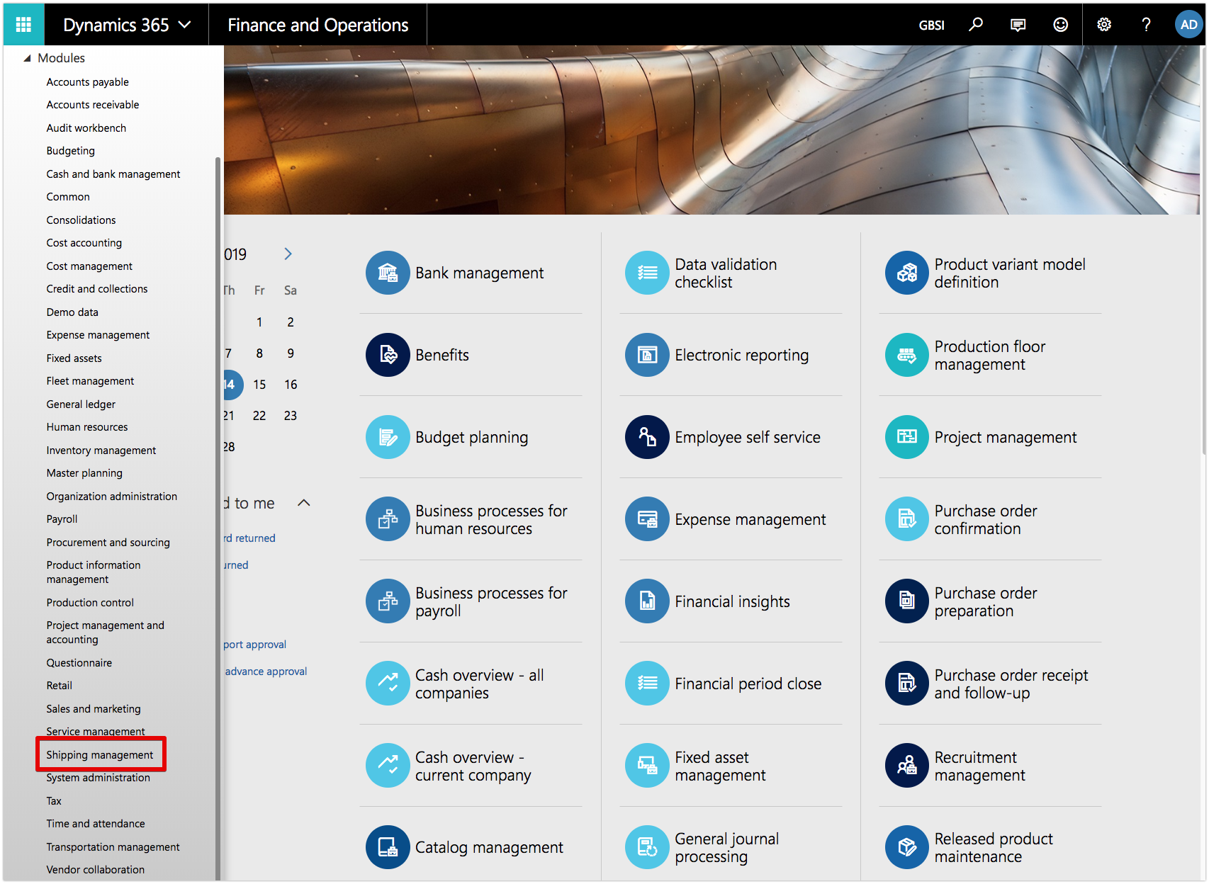 Create Shipping Account in Dynamics 365 Finance Operations