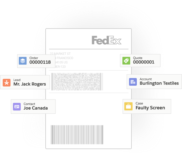 FedEx for Salesforce - Shipping, Tracking, Pickups and Rating